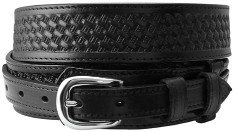 western basketweave genuine leather durable ranger