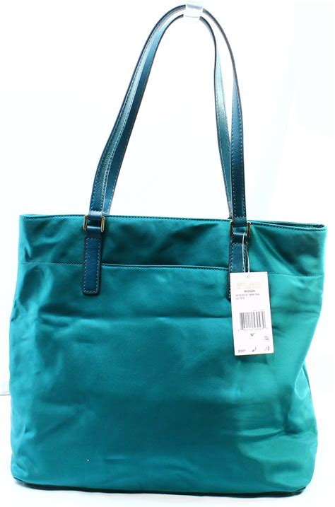 michael kors new blue teal large tote