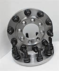 Semi Truck Wheels On Dually Steel 22 5 Semi Wheel 8 To 10 Lug Dually Adapter Rear Only