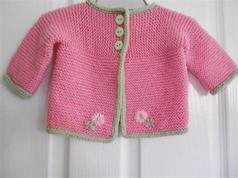 Kimono Cardie Pastel ravelry project gallery for strawberry pink sideways