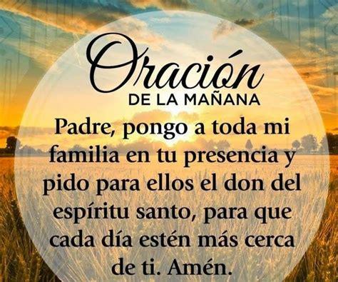 oracion de la manana pensamientos de la vida diaria oraci 243 n de la ma 241 ana