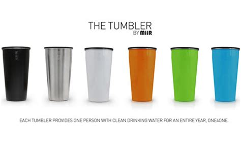 tumbler design maker online a travel cup that gives back the tumbler by miir design