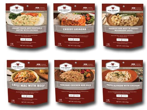 freeze dried food wise food 72 hour emergency entree kit freeze dried food mpn 05 711
