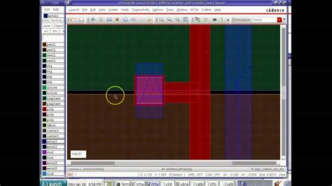 cadence layout youtube ece425 525 cadence tutorial 2 cmos inv layout drc lvs