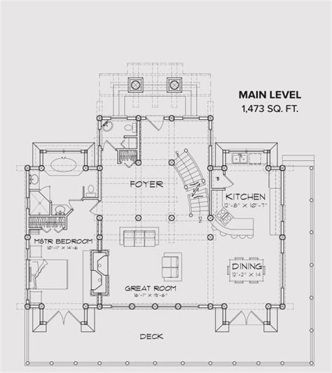 blue ridge floor plan blue ridge log home cabin by precisioncraft