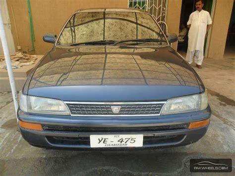 1993 Toyota Corolla For Sale Toyota Corolla Lx Limited 1 3 1993 For Sale In Rawalpindi