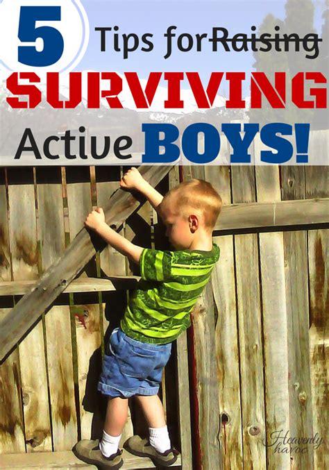 7 Tips On Raising Boys by 5 Tips For Raising Active Boys The Batch