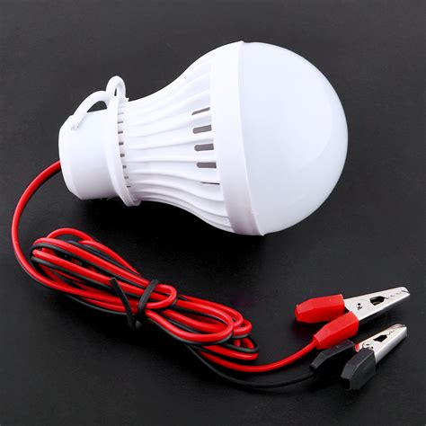 clip on light for tent portable dc 3w led clip bulb l for home cing tent