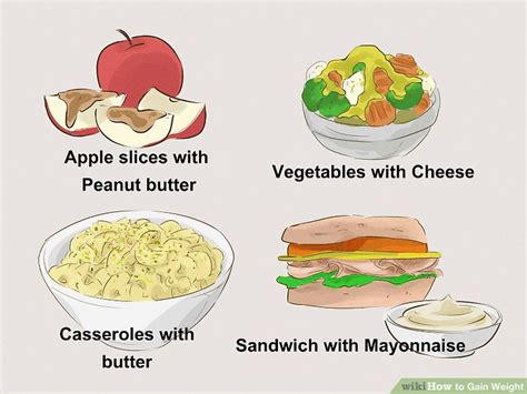 how can you improve looks in one week how to gain weight 15 steps with pictures wikihow
