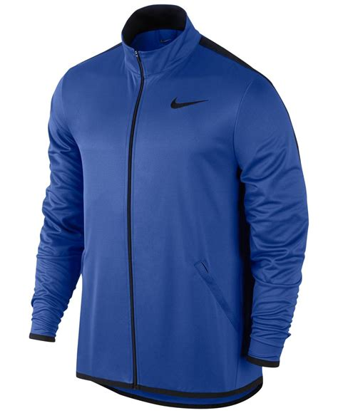Jaket Sweater Hoodie Zipper Nike 90 Rightcollection nike s dri fit zip jacket in blue for lyst