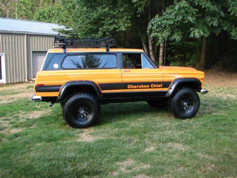 1977 jeep chief 1977 jeep chief sport wide track 4x4 restored