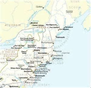 maps united states map northeast