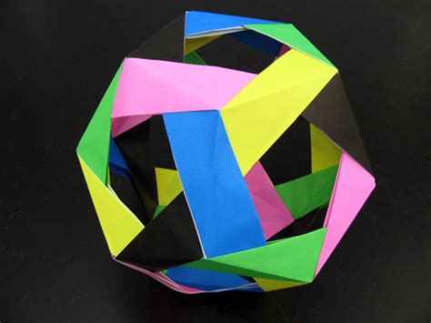 Unit Polyhedron Origami - mr nolde s unit polyhedron origami photo gallery