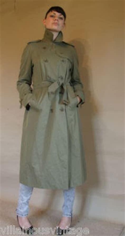 trenchcoated villainous vintage clothing on ebay http