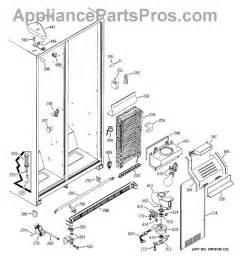 refrigerator parts ge refrigerator parts diagram defrost