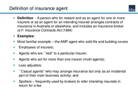 Insurance Description by Liability Of Insurance Agents To Their Clients