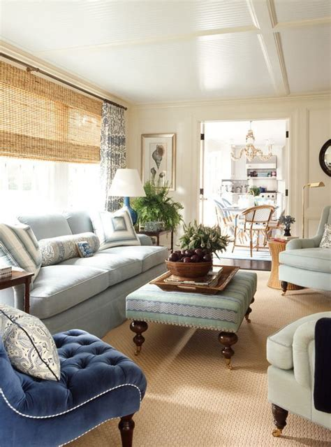 light blue living room home decor