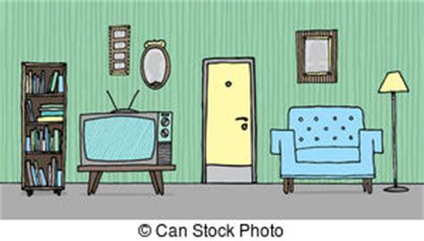 Wohnzimmer Clipart by Wohnzimmer Clipart Und Stock Illustrationen 31 834