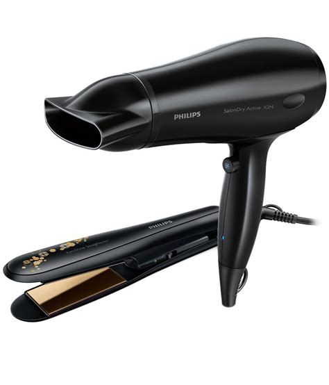 Hair Dryer And Straightener In One philips hp8646 00 hair straightener black buy philips hp8646 00 hair straightener black
