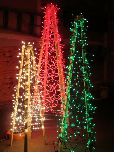 outdoor christmas trees christmas trees red green and