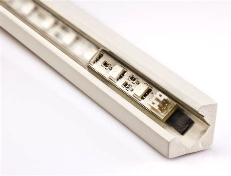 Led Light Bar Housing Klus 0973 45 Mdf Series Corner Mount Mdf Led Profile Housing Led Light Bar
