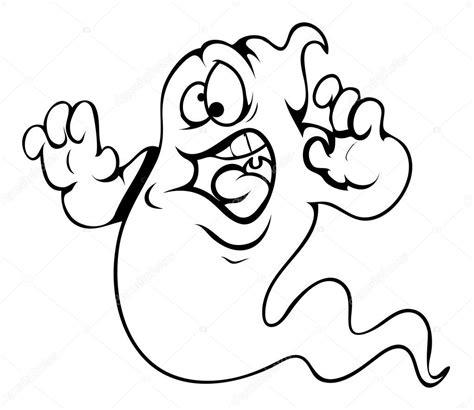 vektor illustration von cartoon halloween k 252 rbis 196 ngstliche geist cartoon halloween vektor illustration