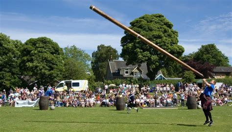 Houses Plan by Carmunnock Highland Games Glasgow Welcome To Scotland