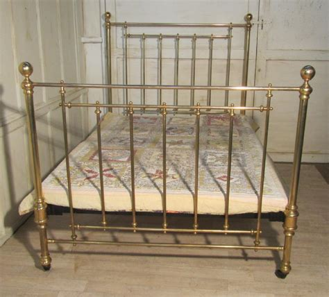 antique brass bed antique brass beds superb victorian brass double bed 260370