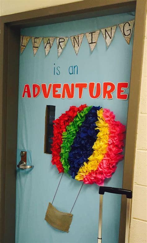 classroom themes hot air balloons classroom door decoration hot air balloon classroom door