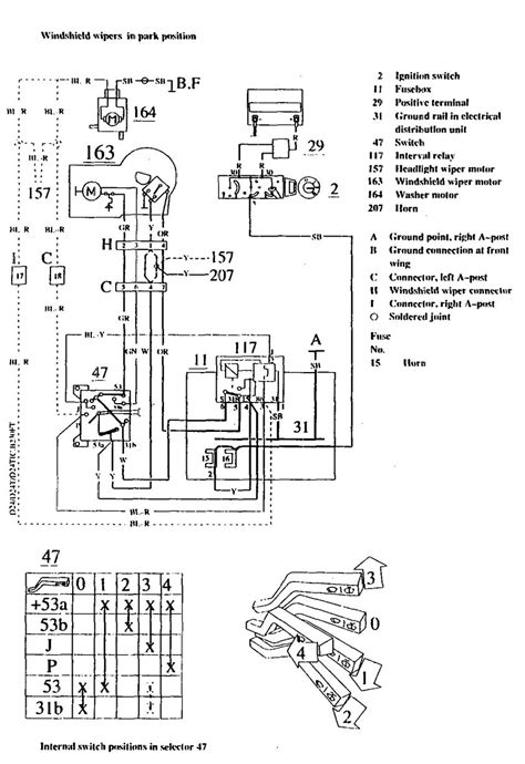 volvo 740 wiring diagram radio wiring diagram
