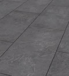 mustang slate 8mm tile effect laminate flooring tradewoods
