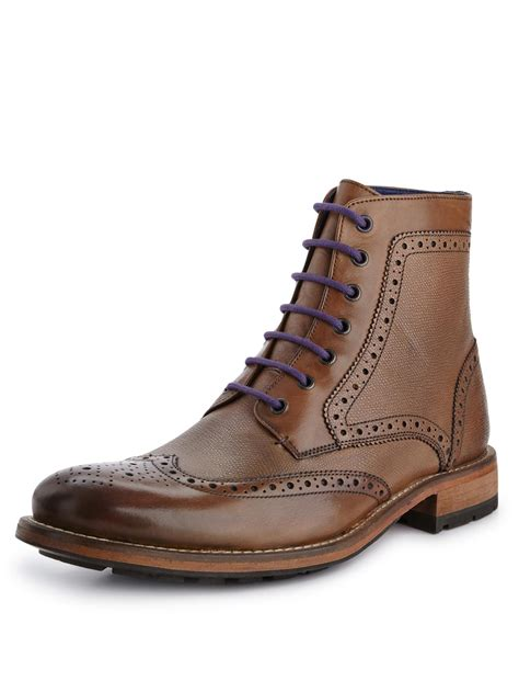 ted baker boots mens ted baker ted baker sealls mens brogues boots in brown for