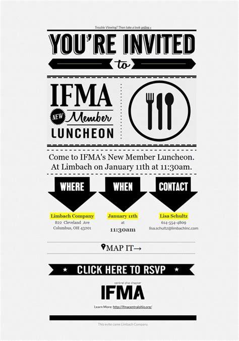 invitation design mail ifma invitation email design email inspiration