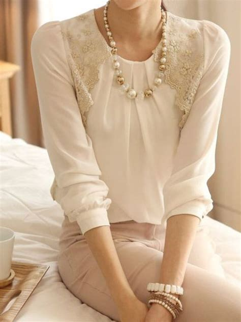 White Lace Skirt And Blouse by 20 Chic Fall Bridal Shower For Brides Decor Advisor