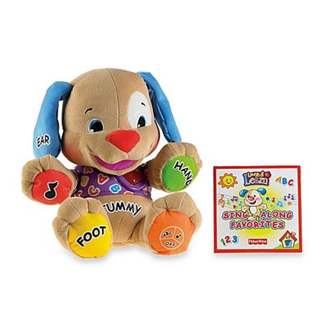 fisher price laugh learn to play puppy fisher price 174 laugh learn to play puppy buybuy baby