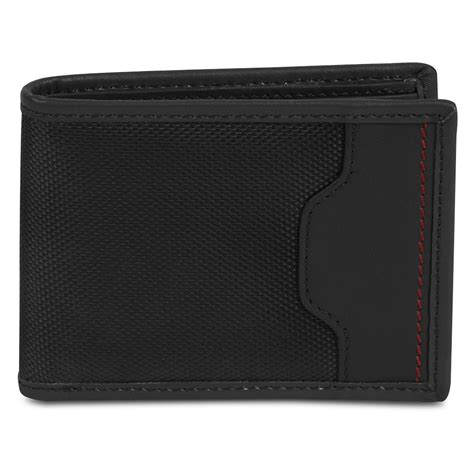 Accent Wallet travelon safe id hack proof accent billfold wallet with