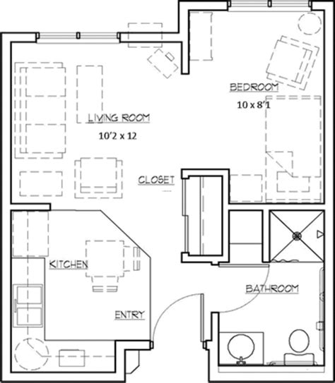 small apartment floor plan the heights at evansville manor floor plans design