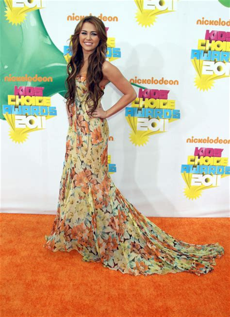 Choice Awards Miley Cyrus by Miley Cyrus Pictures The 2011 Nickelodeon S Choice