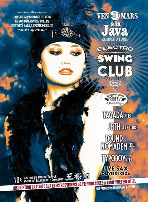 swing club electro swing club sortiraparis