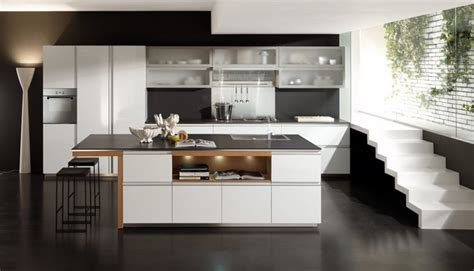 Kitchen Decorating Ideas For Countertops cocinas modernas fotos de dise 241 os asombrosos y funcionales