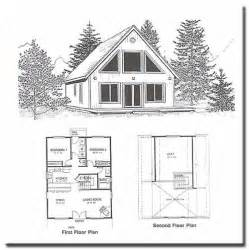 2 bedroom cabin plans with loft