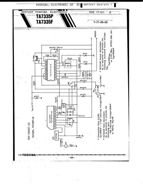 Toshiba Ta7335p datasheet ta7335p pdf toshiba fm front end ic 1 page