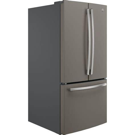 ge slate refrigerator ge door refrigerator 24 8 cu ft slate