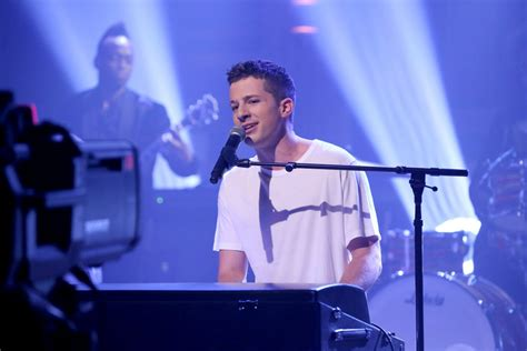 Charlie Puth Jimmy Fallon | charlie puth performs quot attention quot on jimmy fallon s