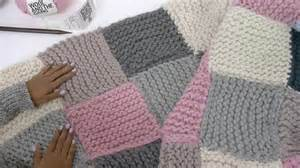 gestrickte decke how to knit a patchwork blanket with pictures wikihow