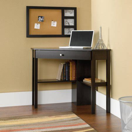 Next Corner Computer Desk Sauder Beginnings Corner Computer Desk Cinnamon Cherry Walmart