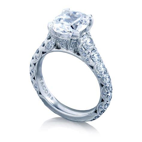 tacori ht2623ov10x8 18 karat royalt engagement ring tq
