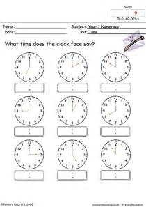 primaryleap co uk time 1 worksheet