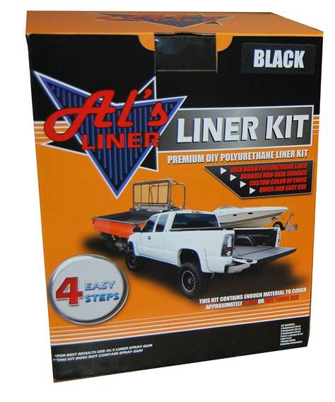 truck bed liner kit al s liners al s liner diy truck bed liner kit quadratec