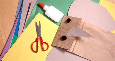 Learn Paper Crafts - 5 paper bag crafts will learning liftoff